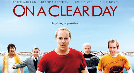 "Locandina del film ""On a Clear Day"" (iconmovies.co.uk)"