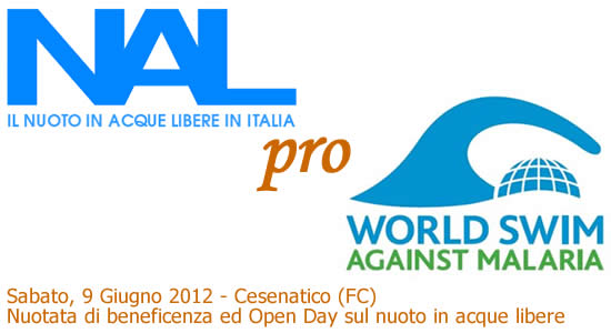 NAL pro World Swim Against Malaria, nuotata di beneficenza per la raccolta fondi